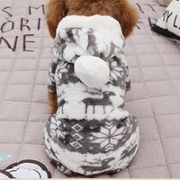 Dog Apparel Clothes Jumpsuit Hoodie Coat Print Profession High Quality Puppy Portable Pet Supplies Winter Warm