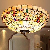 Ceiling Lights Led Turkish Bohemia Natural Shell Tiffany Mediterranean Style Lustres Kitchen Living Room Bar Lamp
