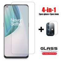 For Glass Oneplus Nord N10 5G Tempered One Plus 0 2 N200 CE 9 9R 8T Caerma Lens Screen Protector Phone Film