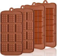 Cavity Break-Apart Chocolat Stampo Vassoio Non-bastone Proteine in silicone ed energia Bar Candy Stampi Food Grade FWE8349