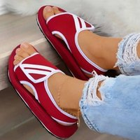 Sandals 2021 Designers Ladies Leather Pu Jelly Cushioning Elegant Femmes Flats Office Street Out Door Slide For Women