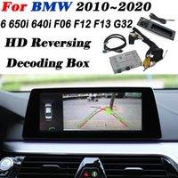 Автомобиль Вид сзади Камеры Паркинг Датчики Парковка Передняя камера для 6 650i 640i F06 F12 F13 G32 Интерфейс Адаптер Оригинальный дисплей Улучшить резервное копирование