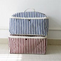 Storage Bags 1Pc Household Products Cotton Line Organizer Clothes Quilt Finishing Dust Bag Quilts Pouch Washable