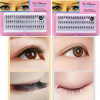 False Eyelashes 60 Cluster 10D 20D Eyelash Extensions Semi-permanent Natural Long Makeup Faux Mink Individual Curly Style