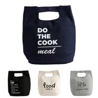 Storage Bags Lunch Insulated Heat Handle Design Thermal Insulation Office Pouch Outdoor Organization