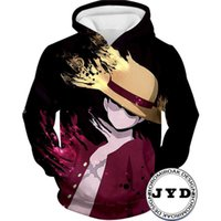 Designer Hoodie Luffy 3D Impreso Luffy Halloween Traje Suéter Pullover Hombres Hombres Sweders Anime Jippers Jerseys Jerseys O-cuello S-5XL