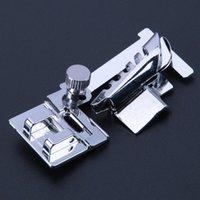 Palavras de costura ferramentas laminadas hem máquinas acessórios doméstico pé reto costuras decorativas de borda útil Metal durável zigzag h