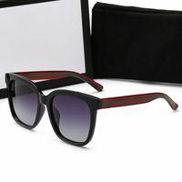 أعلى جودة الفاخرة النظارات الشمسية أزياء رجالي نظارات الشمس uv حماية الرجال مصمم النظارات نظارات النساء مع القضية الأصلية