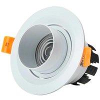 Переменная фокусировка Dimmable LED потолочные светильники светодиодные лампочки 7W 10W Bub вниз лампа AC110V-220V холодно белый / теплый белый