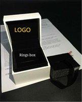Ajuste blanco para la capa plana plana almohada de la esponja dentro de los encantos del collar del abalorado del pendiente del anillo de la pulsera de la pulsera de la joyería de la joyería de la exhibición del paquete de bolsas de papel