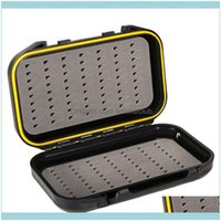 Sports & Outdoorsportable Waterproof Fishing Lure Bait Trout Flies Storage Box Double Sided Fish Container Tackle Xq Aessories Drop Delivery