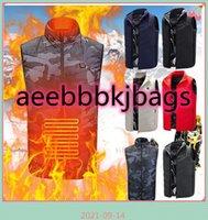 Vests Outdoor Heated Vest Men Women Usb Jacket Heating Thermal Clothing Hunting Winter Black