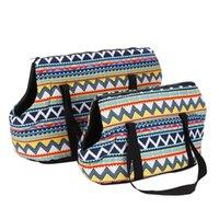 الكلب الناقل حبال الأيدي الحرة حقيبة صغيرة للحيوانات الأليفة السفر في الهواء الطلق ركوب الحقيبة حقيبة الكتف حمل حقيبة