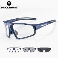Rockbros Mulheres Homens Ao Ar Livre Esporte Caminhadas Óculos De Sol Photochrômico Eyewear Inner Quadro Bicicleta Óculos De Bicicleta Ciclismo Acessórios Para Olhos