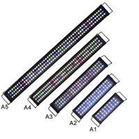 30cm 45cm 60cm 90cm 120cm 블랙 LED 수족관 조명 민물 물고기 탱크 식물 해양 Y200917에 대 한 전체 스펙트럼