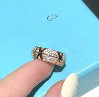 Дизайнерские женщины Rings2021New Мода четкие Zircon кольца для женщин девочек подарки женские обручальные свадьбы CZ Crystal ABGV