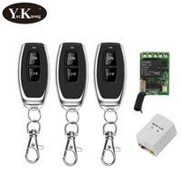 Smart Home Control DC 12V 1 CH 10A Relay Contatto Interruttore remoto 5V 6V 7.4 V 9V Ampia tensione di lavoro Mini interruttori wireless Apprendimento