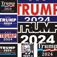 Trump 2024 Adesivo de Carro As regras mudaram 2024 Maga Car adesivos auto adesivo adesivo decalque para o veículo Paster G3304