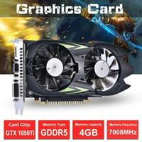 GTX1050TI scheda grafica 4G DDR5 Desktop Graphics Card Computer Indipendente Gioco ad alta definizione all'ingrosso