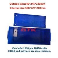 Big Size Grande Capicity ABS + PC Battery Box Case Covering per pacchetti fai-da-te 24 V 200Ah 12V 500Ah 120Ah 48 V 210Ah LifePo4 Li ion LTO cellule LTO