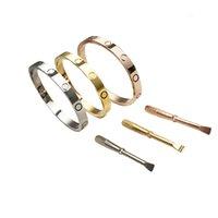 Pulsera de acero inoxidable con estilo para damas y caballeros plateados con un fabricante del equipo de desarrollo de calidad de oro rosa de 18K
