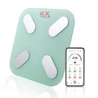 Escalas inteligentes Banheiro Body Body Scale LED Peso Digital Balance Sem Fio Bluetooth Pesando