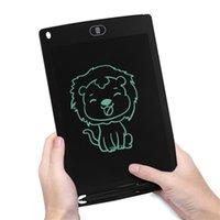 8.5 pulgadas LCD escritura tableta tablero tablero pizarra padras de escritura manipulia regalo para niños sin papel de notas tabletas nota con pluma mejorada 59 S2