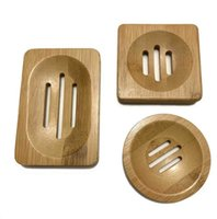 Natural Environmental Protection Soap Plate Simple Mould-proof Bamboo Creative Bathroom Hollow Box Wholesale