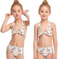أطفال ملابس السباحة الطفلات الطفلات ل بيكيني الطفل المايوه الأطفال السباحة جذوع 2021 جديد الوالد الأطفال فتاة الإناث S5AD