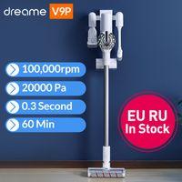 Dreame V9P Ручной беспроводной вакуумный очиститель Protable Wireless Cyclone 120aw Сильный всасывающий ковер пыль коллектор для Xiaomi
