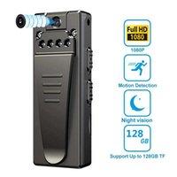 Mini Cameras Camera Bodycam HD 1080P Portable Digital Camcorders Night Vision Loop Recording Video Recorder Pen Micro Webcam Body