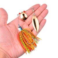 1 шт. SPINNER BAIT 10G 16G 17G металлическая приманка жесткая рыбалка приманка спиннер приманка Spinnerbait Pike Swivel Fish Fackle Wobbler Fishing