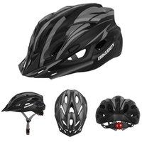 Radfahren Helme Erwachsene Fahrradhelm Für Männer Frauen Sicherheit Schutz 18 Öffnungen Atmungsaktiv Einstellbar Abnehmbar mit Rücklicht