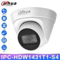 Dahua IPC-HDW1431T1-S4 Original HD 4MP Cámara IP Seguridad PoE IR30M Visión nocturna H.265 IP67 WDR 3D DNR BLC Inicio Webcam al aire libre