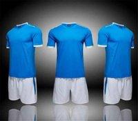 أزياء 13 فريق الفانيلة فارغة مجموعات، مخصص، تدريب كرة القدم ملابس قصيرة الأكمام تعمل مع السراويل 05