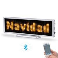 Panneau d'affichage à LED fixe-mobile à LED fixe de P3 16 * 64 pixels de P3 16 * 64 pixels et signe illuminé avec application Bluetooth app