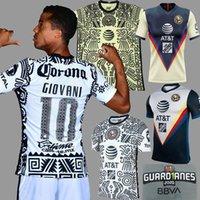 Men2021 Liga MX Club American Third Soccer Jerseys Giovani Castillo G. Ochoa America America 3RD حارس المرمى كرة القدم قميص كيت الرجال الاطفال عدة مجموعات
