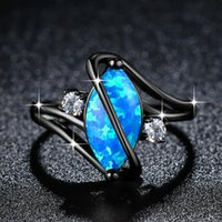 Cluster Rings Women Ring Colored Zircon Party Fashion Jewellery Accessories Glamour Irregular Black Design Wedding Anniversary Gift