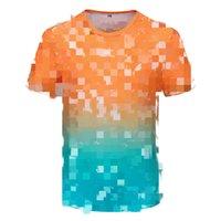 2021 Nouveau T-shirt pour hommes Printemps and Summer Women's Lettre d'impression T-shirt Fashion Casual Puzzle T-shirt Vente chaude Sleeve Sleeve M-3XL TT