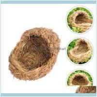 Supplies Home Garden1PC Durable St Katze Bett Einfaches Haustier Schlafendes Haus (hellgelb) Vogelkäfige Drop Lieferung 2021 CNBDD