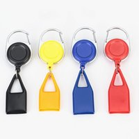 Colorful Lighter Sheath Protective Case Key Buckle Portable Leash Telescopic Rope Shell For Cigarette Smoking Pipe High Quality FWD3389