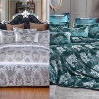 Warmsliving роскошные жаккардовые постельные принадлежности Одноместный Queen King Size Bed Beden Coit Coit 100% Полиэстер Удобное Пододеяльник Набор C0223