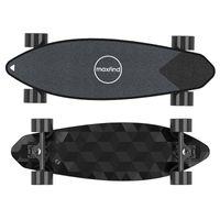 [US Entock] Longboard elettrico MAX2 Pro Smart Scooter Skateboard Dual Motor Drive con telecomando Batteria al litio integrata Maxfind Piccola piastra di pesce