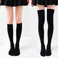 Fashion Women's Stockings Casual Striped Long Socks for Women Girls Japanese Kawaii Cute Thigh High Sock Over Knee Sock Stocking