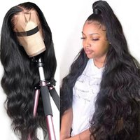 Lace Wigs 28 30 Inch Body Wave 13x4 Front Human Hair Pre Plucked Baby Brazilian Long Frontal Wig Black Women Remy 180%