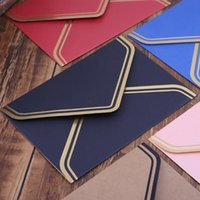 Geschenk Wrap 10 stücke Retro Vintage leere Handwerk Papierumschläge für Brief Grußkarten Hochzeits-Party-Einladungen 125x175mm