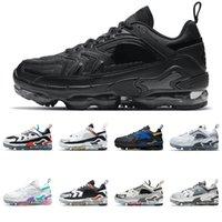 98 Chaussures De Course Triple Noir Blanc La Mezcla Pâques Cosmic CLay Gundam Reflective 98s Femmes Hommes Baskets De Sport En Plein Air 36-45