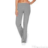 Frauen Damen Lässig Massivfarbe Slim Hüften Lose Yoga Hosen Breite Bein Sport Hosen Training Fitness Hose Sportbekleidung Legging Yoga Pantssoccer
