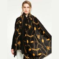 шарфы популярные геометрические треугольники перо цепочка морщин леопардовый печать роза позолоченная бабочка многофункциональный шарф