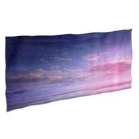 Towel Aurora Fast Drying Microfiber Bath Printing Spa Bathrobe Washing Clothes Gym Fashion Mat Camping Accessories